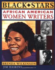 AFRICAN AMERICAN WOMEN WRITERS by Brenda Wilkinson