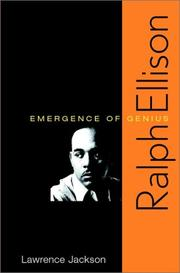 RALPH ELLISON by Lawrence Jackson