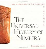 Book Cover for A UNIVERSAL HISTORY OF NUMBERS