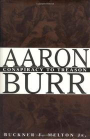Book Cover for AARON BURR