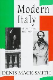 MODERN ITALY by Denis Mack Smith