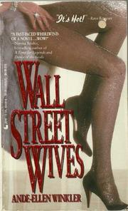 WALL STREET WIVES by Ande-Ellen Winkler
