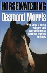 Cover art for HORSEWATCHING