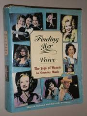 Cover art for FINDING HER VOICE