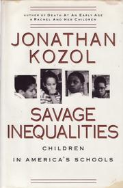Cover art for SAVAGE INEQUALITIES