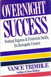 OVERNIGHT SUCCESS by Vance H. Trimble