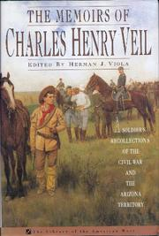 THE MEMOIRS OF CHARLES HENRY VEIL by Herman J. Viola
