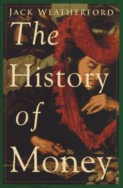 Book Cover for THE HISTORY OF MONEY