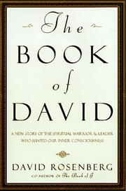 THE BOOK OF DAVID by David Rosenberg