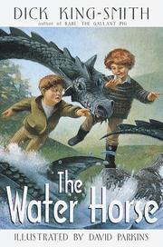 Cover art for THE WATER HORSE