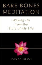 Book Cover for BARE-BONES MEDITATION