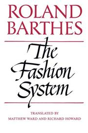 Book Cover for THE FASHION SYSTEM