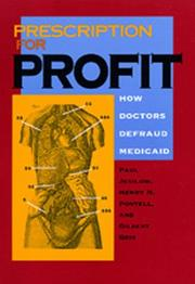 PRESCRIPTION FOR PROFIT by Paul Jesilow