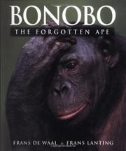 BONOBO by Frans de Waal