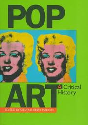 Book Cover for POP ART