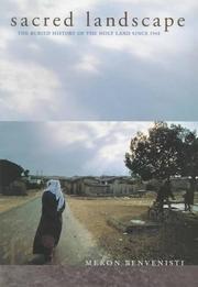 SACRED LANDSCAPE by Meron Benvenisti