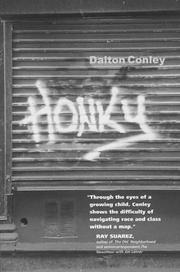 Cover art for HONKY