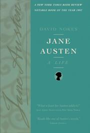 JANE AUSTEN: A Life by David Nokes