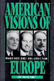 AMERICAN VISIONS OF EUROPE by John Lamberton Harper
