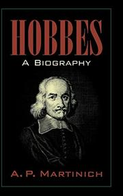 HOBBES by A.P. Martinich