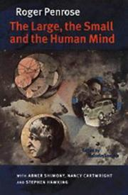 Cover art for THE LARGE, THE SMALL AND THE HUMAN MIND