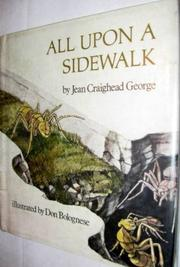 ALL UPON A SIDEWALK by Jean Craighead George