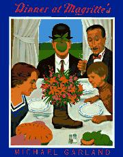 DINNER AT MAGRITTE'S by Michael Garland