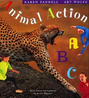 Book Cover for ANIMAL ACTION ABC
