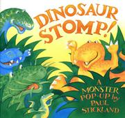 Cover art for DINOSAUR STOMP!