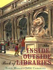 Cover art for THE INSIDE-OUTSIDE BOOK OF LIBRARIES