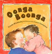 Book Cover for OONGA BOONGA