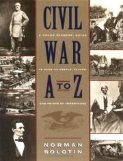 Cover art for CIVIL WAR A TO Z