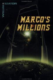 Cover art for MARCO'S MILLIONS