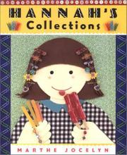 Cover art for HANNAH'S COLLECTIONS