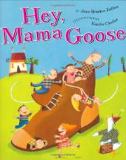 Book Cover for HEY, MAMA GOOSE