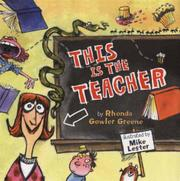 Book Cover for THIS IS THE TEACHER
