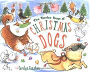 Cover art for THE TWELVE DAYS OF CHRISTMAS DOGS