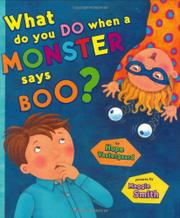 Book Cover for WHAT DO YOU DO WHEN A MONSTER SAYS BOO?