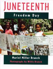 JUNETEENTH by Muriel Miller Branch