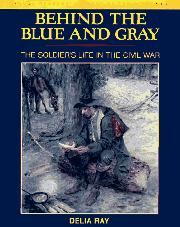 Cover art for BEHIND THE BLUE AND GRAY