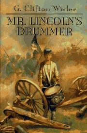 Cover art for MR. LINCOLN'S DRUMMER