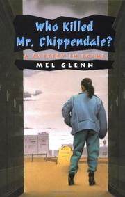 Cover art for WHO KILLED MR. CHIPPENDALE?