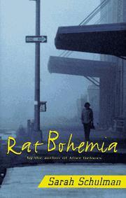 RAT BOHEMIA by Sarah Schulman