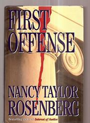Cover art for FIRST OFFENSE