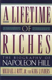 A LIFETIME OF RICHES by Jr. Ritt