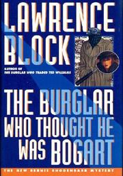 Book Cover for THE BURGLAR WHO THOUGHT HE WAS BOGART