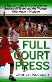 Book Cover for FULL COURT PRESS