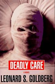 Cover art for DEADLY CARE