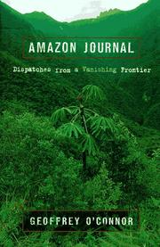 AMAZON JOURNAL by Geoffrey O'Connor