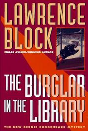 Cover art for THE BURGLAR IN THE LIBRARY